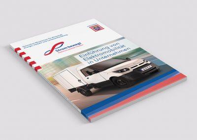 Broschüre E-Mobilität in Unternehmen