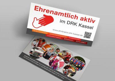 Flyer Ehrenamtlich aktiv im DRK Kassel