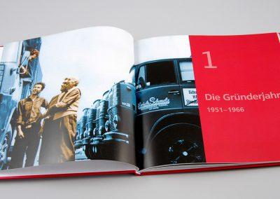 Jubiläumsbroschüre (Text Eva Frantz; Fotos Fotodesign Gerd Aumeier und Familienbesitz)
