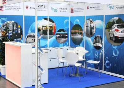 H2BZ-Initiative Hessen, Stand auf der World of Energy Solutions 2016