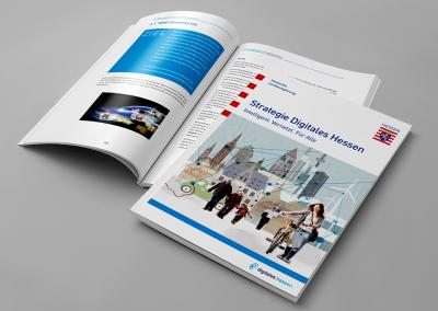 Broschüre Strategie Digitales Hessen